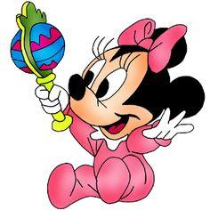 Baby Minnie Mouse - Cartoon Clip Art