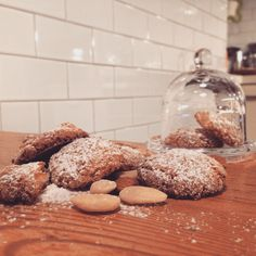 Homemade soft amaretti!