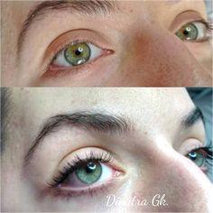 """18 """"Μου αρέσει!"""", 1 σχόλια - Dimitra Gkouzou (@dimitra.gkouzou) στο Instagram: """"#lashes #lashextensions #classicset #natural #eyelashes #nomascara #eyelashstylist…"""""""