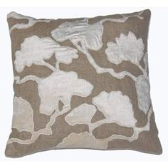 Ginkgo Leaf Pillow by Josey Miller