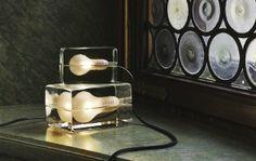 Swedish Designed Block Lamp by Harri Koskinen