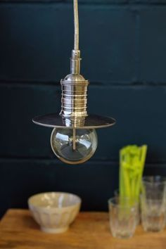 Industrial Style Ceiling Light including rose 1 5m flex WAS 99 NOW 49
