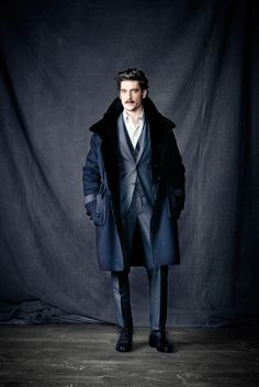 Berluti // overcoat /// a way to make a statement while still being neutral