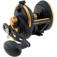 Penn Squall Star Drag Conventional Reel, Multicolor
