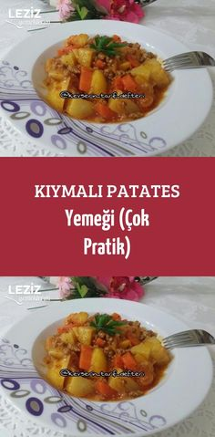 Kıymalı Patates Yemeği (Çok Pratik) Fish And Meat, Fish And Seafood, Turkish Recipes, Italian Recipes, Turkey Today, Turkish Sweets, Turkish Kitchen, Fruit In Season, Fresh Fruits And Vegetables