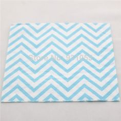 Find More Event & Party Supplies Information about Free Shipping Party Decations 2000 PCS  Baby Blue Chevron Paper Napkin For Baby Shower,High Quality Event & Party Supplies from Fairy Tales on Aliexpress.com