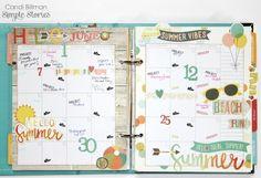 Planner Page by design team member Candi Billman