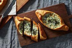Green Khachapuri (Georgian Cheese Bread) recipe on Food52