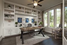 I Love the Floor to Ceiling Built-Ins ~ Very Nice!