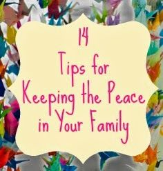 keep the peace with your kids. somehow, this makes more sense than the ahaparenting articles all my friends swear by. perhaps its the matter of fact, this is what you do and why, cut the sap crap tone i read in it. :)