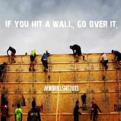 Have your friends ever tried to talk you into doing Tough Mudder? Did you check out the web site and immediately say no effing way! I'd say that is a pretty normal response, but I think you … Fitness Motivation, Daily Motivation, Fitness Quotes, Motivation Inspiration, Fitness Inspiration, Motivation Quotes, Exercise Motivation, Running Motivation, Health Exercise