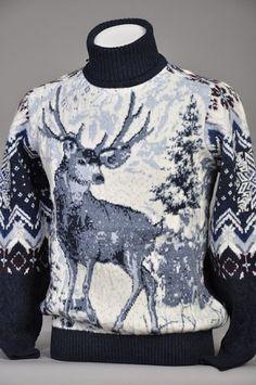 Double Knitting Patterns, Christmas Knitting Patterns, Knitting Designs, Knit Patterns, Pullover Design, Sweater Design, Cool Jumpers, Knit Art, Crochet Cap