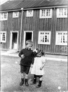 Marinus og Clara Svendsen - Barakkerne Vigerslev allé - 1919 - Kølbenhavns Bymuseum