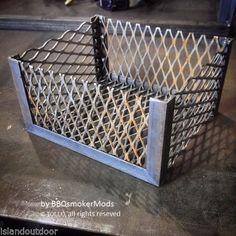 Coal-Basket-Charcoal-Wood-Basket-for-Oklahoma-Joe-Longhorn-by-BBQ-smoker-mods