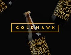 Consulter ce projet @Behance : « Goldhawk Ale » https://www.behance.net/gallery/26187455/Goldhawk-Ale