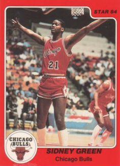 Chicago Bulls - Sidney Green : 1983-1986