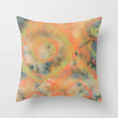Buy Desert Fresco Tie Dye Throw Pillow by ninamay. Worldwide shipping available at Society6.com. Just one of millions of high quality products available. Couch Pillows, Down Pillows, Tie Dye Fashion, May Designs, Designer Throw Pillows, Fabric Art, Pillow Design, Fresco, Pillow Inserts