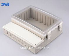 One pcs 291*301*120mm IP68 waterproof plastic box for electronic electrical meter housing DIY project box sealed control box