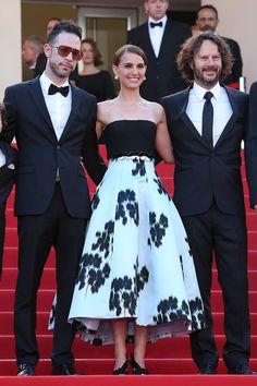 Natalie Portman, ravissante égérie Dior, en robe Dior Haute Couture. #Cannes2015 #NataliePortman #Dior #robe