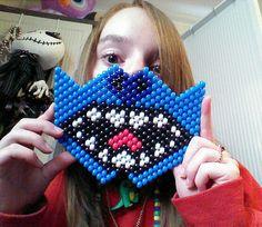 Stitch mask made by DinoKittey