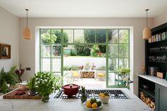 Home, Chiswick, Style Tile, Crittal Windows, Kitchen Renovation, Devol Kitchens, House, Kitchen, Basement Kitchen