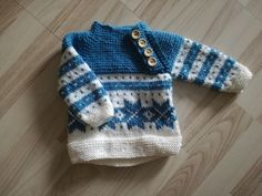 Osloanorakk med Fana-vri Oslo, Barn, It Is Finished, Knitting, Sweaters, Projects, Fashion, Baby Girls, Log Projects