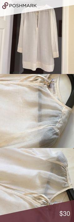 Victoria's Secret Sleepwear Top M, 75% Cotton/25% Silk, Trim:100% Silk, great condition Victoria's Secret Intimates & Sleepwear Pajamas
