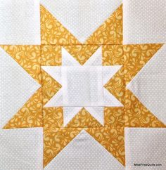 Rising Star Quilt Block free pattern on Craftsy at http://www.craftsy.com/pattern/quilting/other/rising-star-quilt-block/70521