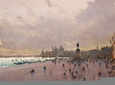 Joseph Zbukvic - VENICE - watercolor
