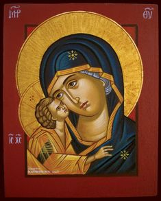 Religious Images, Religious Icons, Religious Art, Jesus Christ Images, Byzantine Icons, Russian Orthodox, Art Carved, Madonna And Child, Blessed Virgin Mary