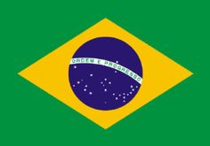 Brazil flag printable, Brazilian flag printable
