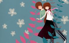 South Korean Cartoon Illustration picture2_High Definition Wallpapers | Widescreen| LCD Desktop Wallpapers