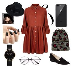 """""""college's fashion"""" by helenakar on Polyvore featuring Cole Haan, Les Petits Joueurs, Mela Loves London, CLUSE and Incoco"""