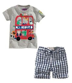summer time outfit for baby boy | 2014 New kid apparel Boys Summer Clothing Set Baby Boys Set Suit ...