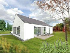 Typový projekt rodinného domu ALFA 140 – Přízemní typový dům, Bungalov od společnosti EKOPANELY CZ s cenou  realizace 1 603 000 Kč