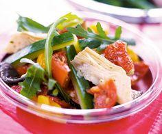 Recette avec astuce de Cyril Lignac : Salade légère de légumes d'été