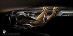 Tesla Model-S 2025 Interior Design on Behance