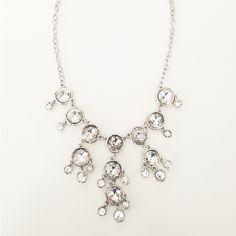 Mini Crystal Bubble Necklace