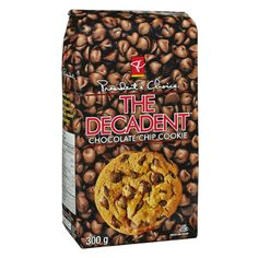 PC The Decadent Chocolate Chip Cookie Chocolate Chip Cookies, Dog Food Recipes, Cookie Recipes, Decadent Chocolate, Goodies, Favorite Recipes, Treats, Canada, Chocolate Pudding Cookies