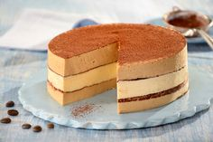 Przepis na Torcik Tiramisu Polish Desserts, Polish Recipes, Sweet Recipes, Cake Recipes, Brownie Cake, Great Coffee, Food Cakes, Yummy Cakes, Catering