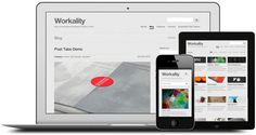 Workality is awasome responsive portfolio wordpress theme for creative agency. This themes suited for creative folk that wish to present their products or services in a creative way. Source Of Inspiration, Design Inspiration, Web Design, Creative Portfolio, User Interface Design, New Theme, Creative People, Wordpress Theme, Blog