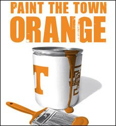 Orange Is A Great Color Go Vols Ut Football Tennessee Volunteers
