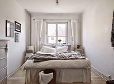 Casinha colorida: Um pequeno apartamento escandinavo