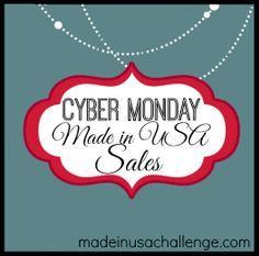 #CyberMonday sales #madeinusa!