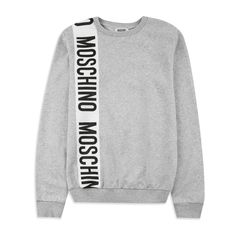 0ef3f5d8cbb1 Boys Bold Logo Sweatshirt - Grey by Moschino