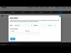 How to set a usage alert and optionally, a hard usage cap in the Ting account dashboard