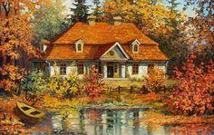 Stanislaw Wilk - pintor del paisaje polaco