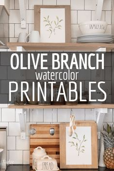 - Twelve On Main olive Spring Home Decor, Diy Home Decor, Simple Artwork, Elderly Home, Decorating Your Home, Decorating Ideas, Farmhouse Decor, Farmhouse Style, Entryway Decor