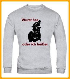 Wurst her oder ich beie - Tier shirts (*Partner-Link)