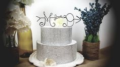 Arrow cake topper, love, personalized cake topper,engaged, engagement party,wedding, wedding cake,wedding decor, rustic wedding,wired twist